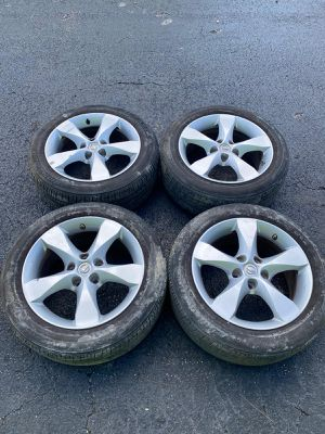 Rims 17 nissan 5 lugs 114.3 mm for Sale in Davie, FL