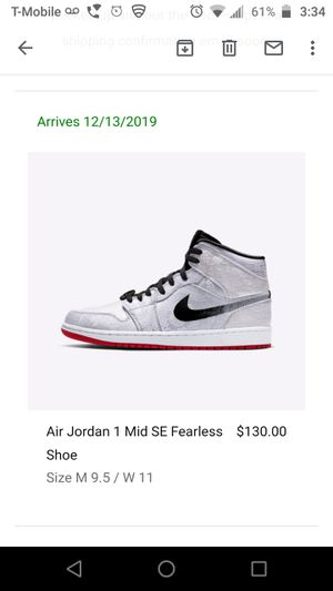 Air Jordan 1 Mid SE Fearless Shoe for Sale in Modesto, CA