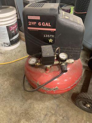 Craftsman's air compressors for Sale in Granite Falls, WA