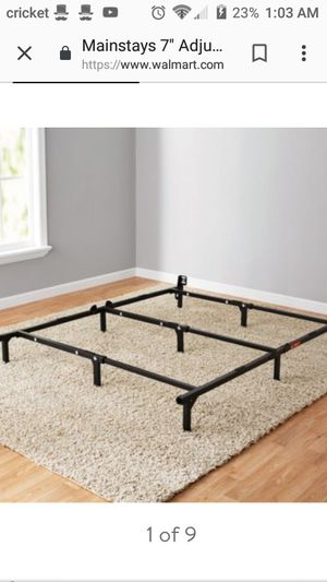 Bed frame for Sale in Fort Wayne, IN