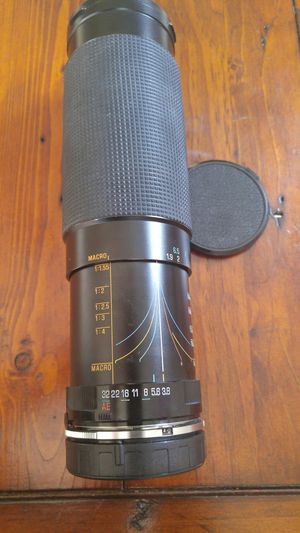 Tamron Nikon mount 60-300 manual zoom lens with Macro. for Sale in Silver Spring, MD