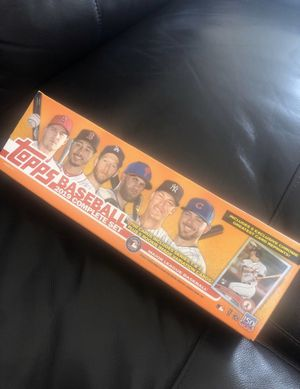 2019 Topps complete set (READ BELOW) for Sale in Tempe, AZ
