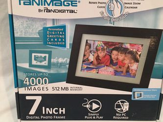 Panimage by Pandigital Digital Photo Frame for Sale in Morrison,  CO