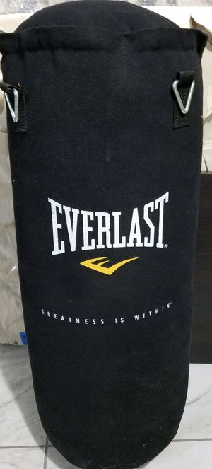 Everlasting punching bag, 70Lb nevatear heavy bag for Sale in Kirkland, WA