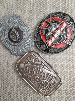 3 belt buckles never used for Sale in Tucson, AZ