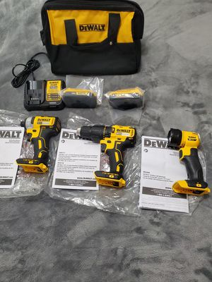 Dewalt 20v MAX Brushless 3-tool combo kit for Sale in Riverview, FL