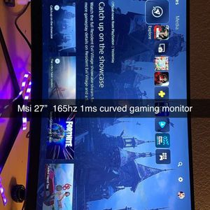 "MSI 27"" 165hz 1ms Curved Gaming Monitor for Sale in Boulder City, NV"