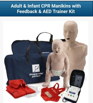 CERTIFIED ADULT & INFANT CPR TRAINING KIT for Sale in Tacoma, WA