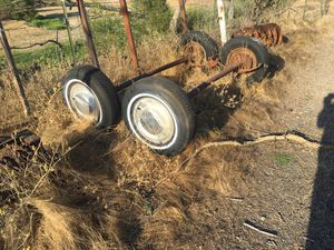 Double Axel with Break. 3500 lb for Sale in Willows, CA