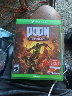 Doom Xbox One for Sale in Berkeley, CA
