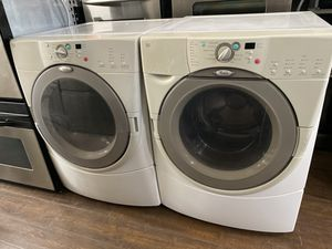 WHIRLPOOL FRONT LOAD WASHER AND DRYER SEG for Sale in Covina, CA