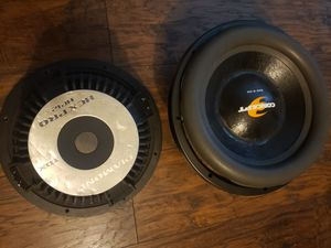 Subwoofer's /Recoil Needed (Sold as-is) [Read ALL info 1st] for Sale in Phoenix, AZ