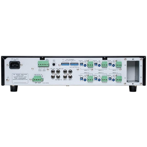 Amplifier TOA A-724   240 Watt Integrated Mixer Amp / Synth or Drum Machine Trades Accepted about same value
