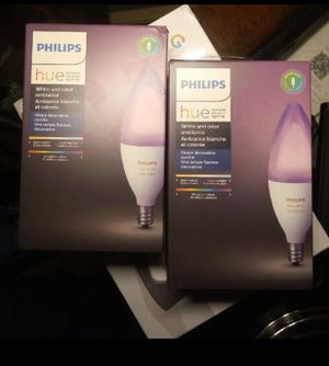 Phillips hue color bulbs for Sale in North Highlands, CA