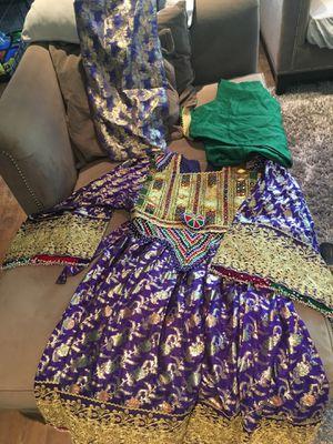 Elegant handmade afghan ethnic dress for Sale in Irvine, CA