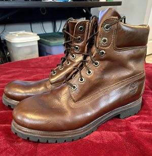 Leather Timberland Boots. 11.5 M for Sale in Yorktown, VA