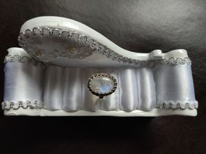 Beautiful Moonstone 925 Ring for Sale in Naperville, IL