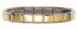 Brand new Italian charm bracelet gold center for Sale in Waddell, AZ