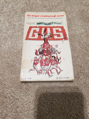 "Vintage Walt Disney Productions ""Gus"" paperback. 1976. Fair condition. for Sale in Houston, TX"