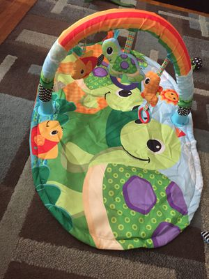 Baby toys and size 3 baby shoes for Sale in Columbus, OH