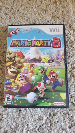 Mario party 8 for Wii for Sale in Davis, CA