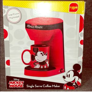 Mickey Mouse Coffee Maker, brand new for Sale in Stanwood, WA