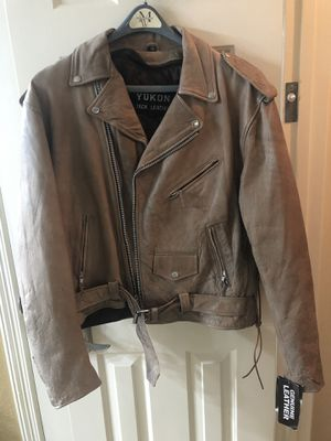 Men's motorcycle jacket and chaps for Sale in Houston, TX