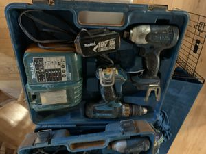 Makita 18v cordless set for Sale in Evesham Township, NJ