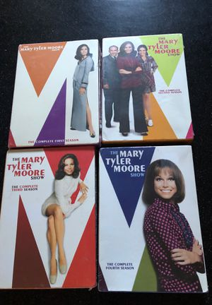 Mary Tyler Moore DVD complete sets—seasons 1-4 for Sale in Puyallup, WA