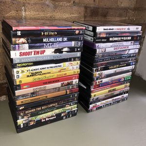 DVDs $2 each (Tribeca Manhattan) for Sale in New York, NY