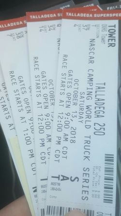 Talladega tickets for Sale in Prattville,  AL
