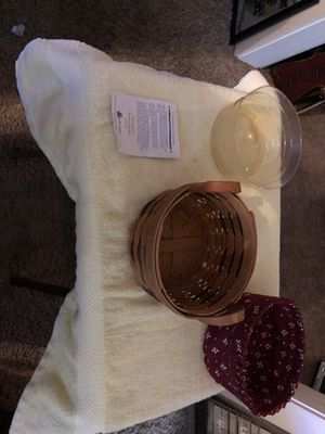 HEARTLAND BUTTON LONGABERGER BASKET for Sale in Sherrills Ford, NC