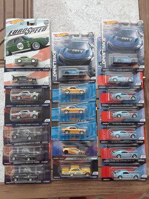 Hot Wheels Premiums Car Culture Real Riders $4 each for Sale in Chino Hills, CA