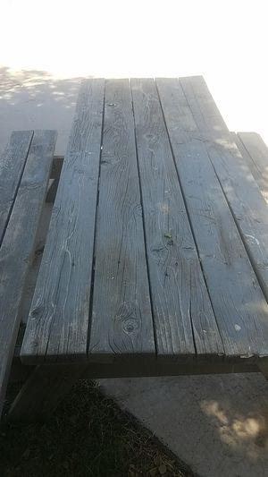 Picnic Table, Wood Table, Outdoor furniture for Sale in Glendale, AZ