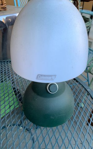 Coleman battery Lamp for Sale in La Cañada Flintridge, CA