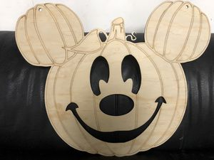 Mickey Halloween Pumpkin (unpainted) for Sale in Fountain Valley, CA