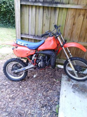 Honda cr80 2 stroke dirt bike for Sale in Jacksonville, FL