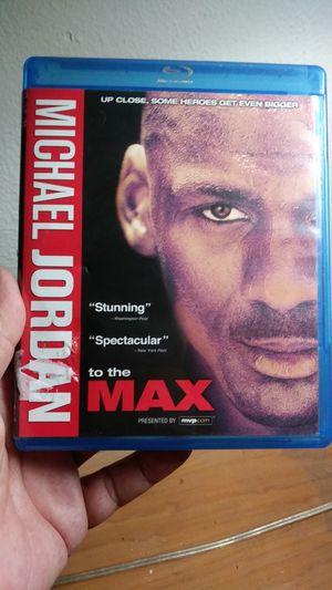 Michael Jordan Blu-ray to the max for Sale in Phoenix, AZ