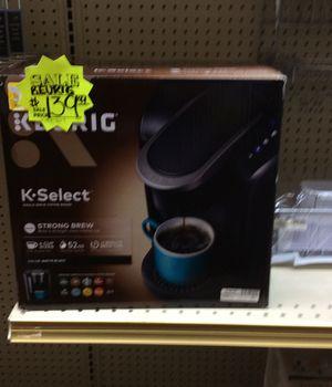 K select coffee maker for Sale in Dallas, TX