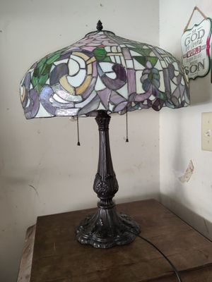 Antique Glass Mosiac Lamp for Sale in Baytown, TX