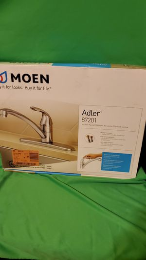 """MOEN KITCHEN FAUCET """"ADLER"""" NEW IN THE BOX for Sale in Beaumont, CA"""