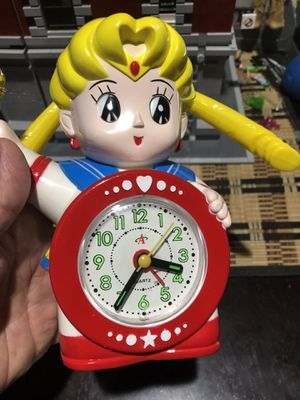 Very Rare 1990's SAILOR MOON CLOCK for Sale in Oceanside, CA