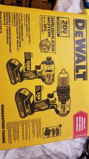 DeWalt 20 volt brushless drill set for Sale in Norwalk, CA
