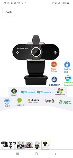 Hp webcam for Sale in Baltimore, MD
