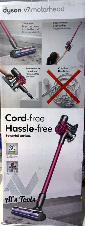 Dyson v7 Motorhead cordless vacuum for Sale in Paramount, CA