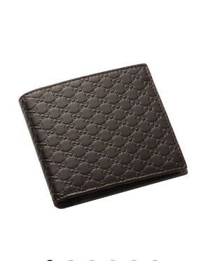 Authentic men's brown Gucci wallet for Sale in Upland, CA