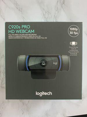 Logitech C920s HD pro webcam for Sale in Garland, TX