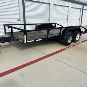 14k lbs Car/Tractor /Utility Pipe Tandem Trailer 16' for Sale in Red Oak, TX