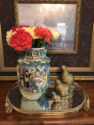 "Vintage Chinese porcelain vase 8.5"" for Sale in Norcross, GA"