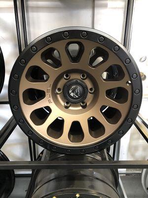 17x9 fuel rims 6lug Chevy for Sale in Phoenix, AZ